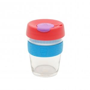 Keep Cup Original - Csésze üveg 340 ml (piros,átlátszó,kék)