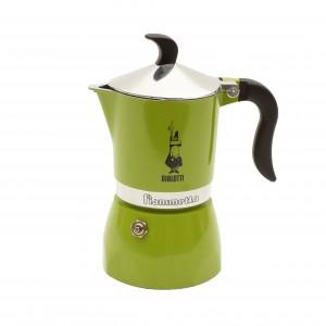 Bialetti - Fiametta Kávéfőző Zöld (3 személyes)