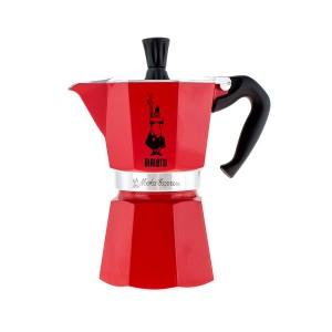 Bialetti - Moka Express Kávéfőző Piros (6 személyes)