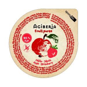 AG Gyümölcspüré alma-eper 120 g (48 db)