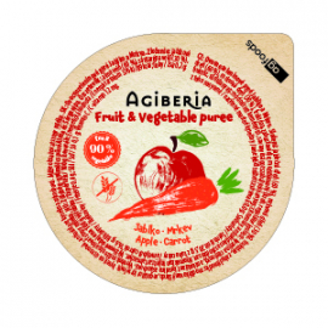 AG Gyümölcspüré alma-sárgarépa 120 g (48 db)