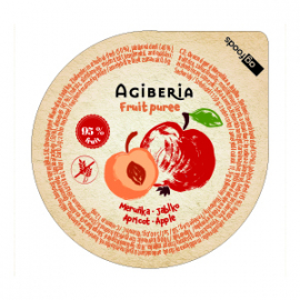 AG Gyümölcspüré sárgabarack-alma 120 g (48 db)