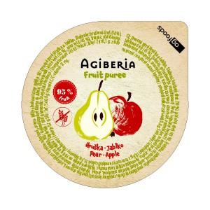 AG Gyümölpcsüré körte-alma 120 g (48 db)