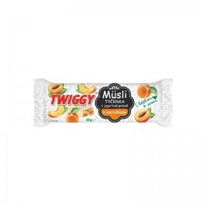 Twiggy Müzli sárgabarackkal, joghurtos öntettel 30 g (24 db)