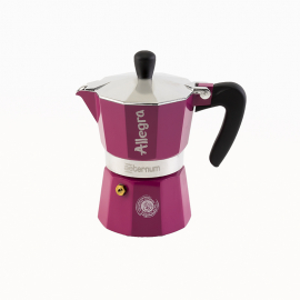Bialetti - Aeternum Allegra Kávéfőző Pink (3 személyes)