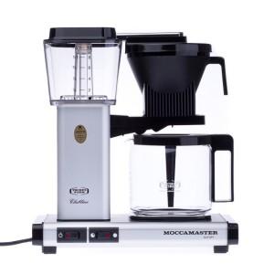 Moccamaster - KBG 741 AO Matt Ezüst Filter Kávégép (10 személyes)