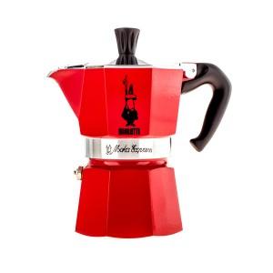 Bialetti - Moka Express 3 Kávéfőző Piros