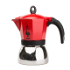 Bialetti - Moka Induction 6 Red Kávéfőző