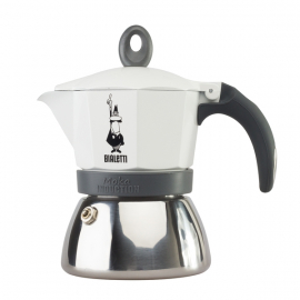 Bialetti - Moka Induction 3 Kávéfőző Fehér