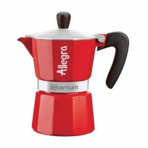Bialetti - Aeternum Allegra 3 Kávéfőző Piros