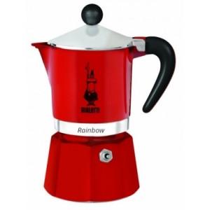 Bialetti - Rainbow 3 Kávéfőző Piros