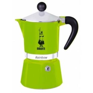 Bialetti - Rainbow 3 Kávéfőző Zöld