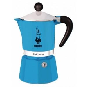 Bialetti - Rainbow 3 Kávéfőző Kék